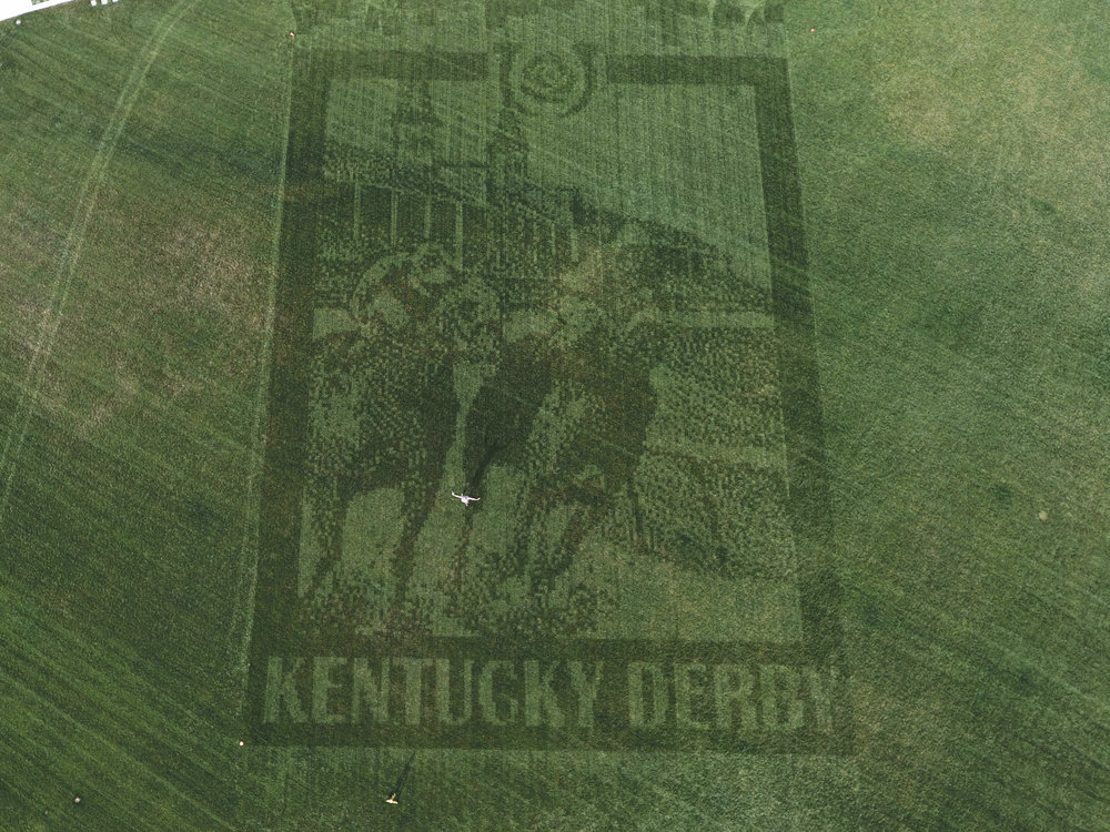 New Grounds Technology at the Kentucky Derby. This particular design is 150ft tall. Image Credit: prweb.com