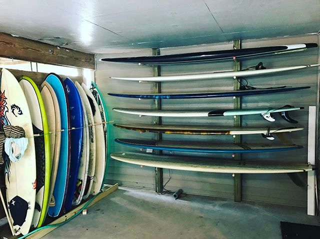 It's good to have choices! #boards #rack #nagshead #surf #headhighsurfboards