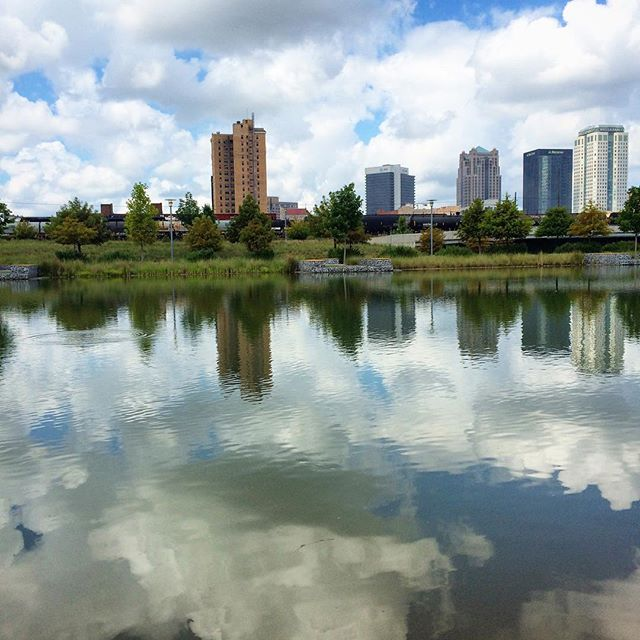 Here is a snapshot I took of Railroad Park just the other day when visiting the park with my kids. It's a beautiful blend of nature, the city we love so much, and a strong sense of community. The perfect place for Becca and I to open our studio, in the heart of the city.