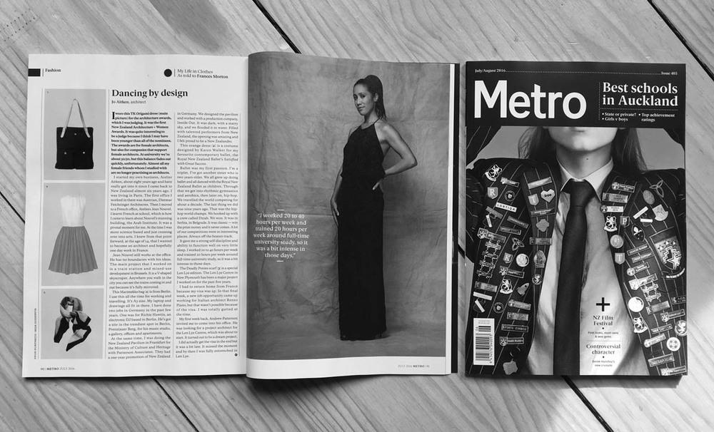 metro magazine jo aitken