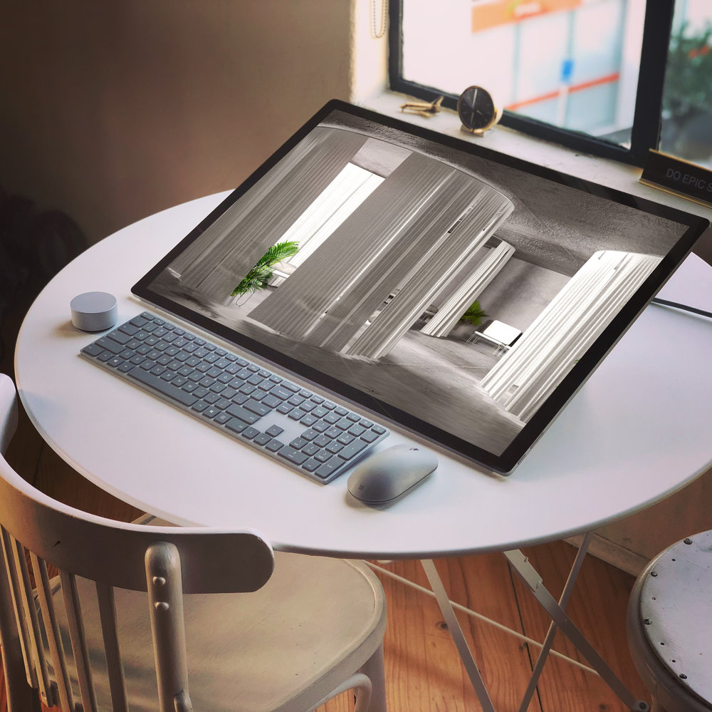 As ambassadors for the new Surface Studio, we are very excited to start off our new year with a wonderful new suite of tools, the Surface Studio and Surface Book 2, which is making starting back at work like a dream!