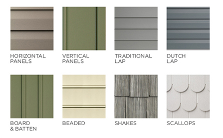 House siding chevelle tech for Types of siding