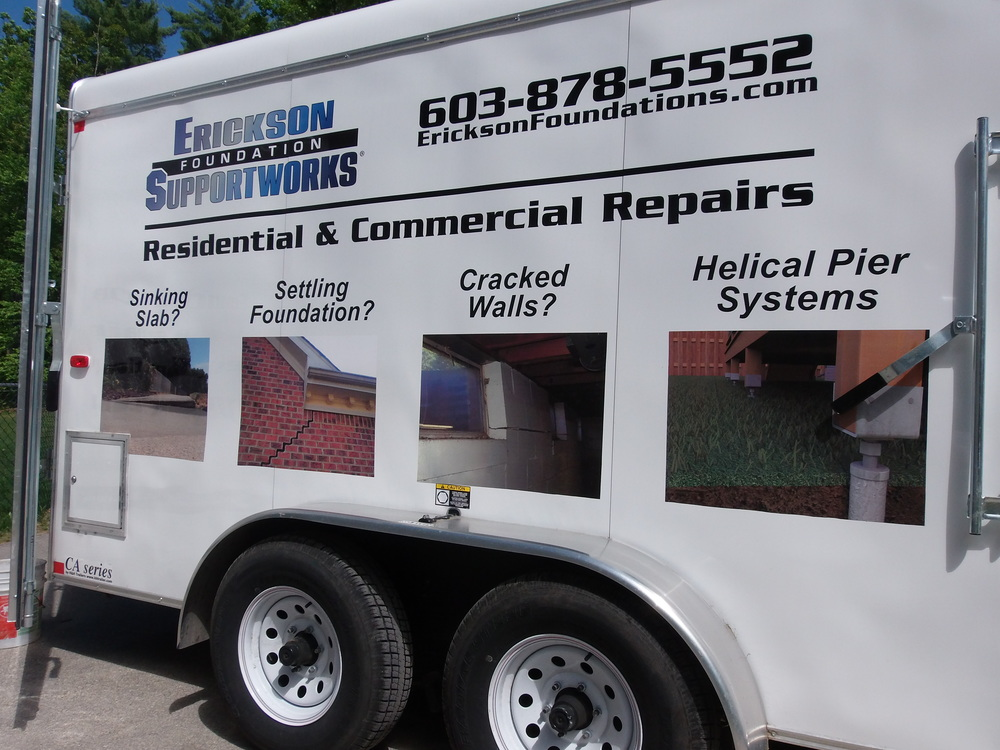 Foundation repair services in New Hampshire & Massachusetts