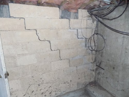 foundation wall cracks