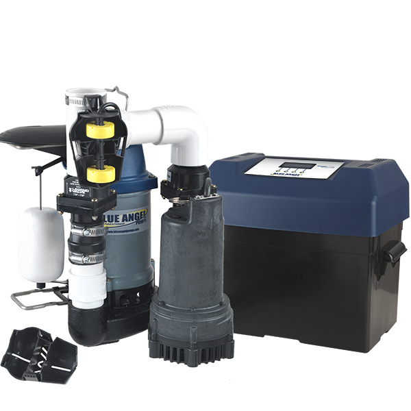 Blue Angel Sump Pump System