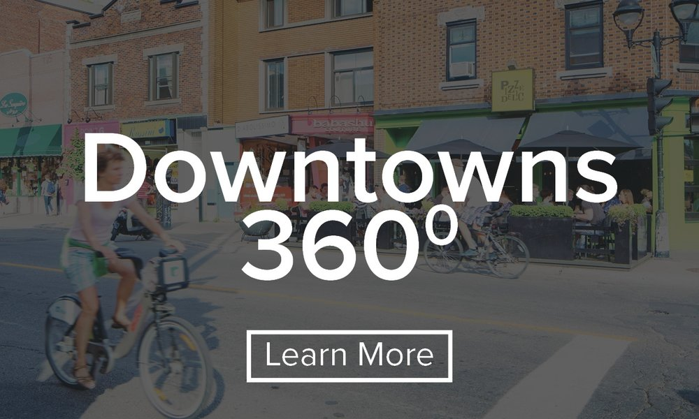 Building support and momentum for downtown revitalization across Canada.