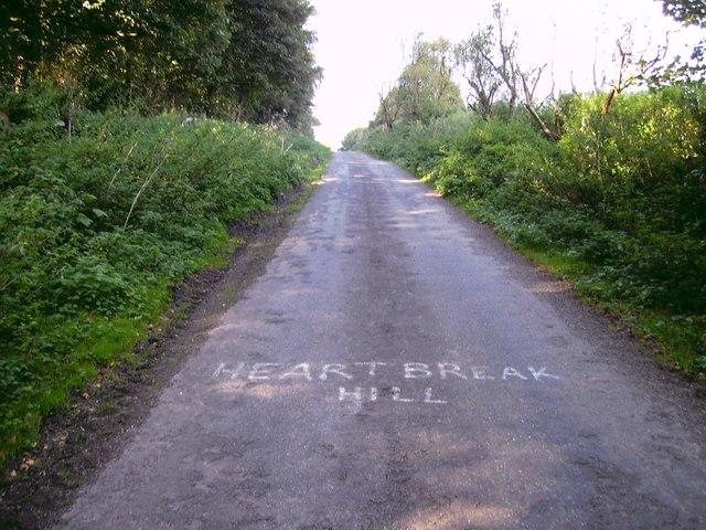 Just keep climbing Heartbreak Hill!