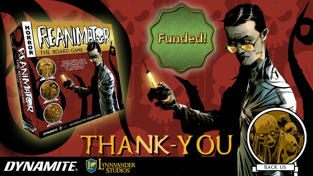 Thank you to all the backers!