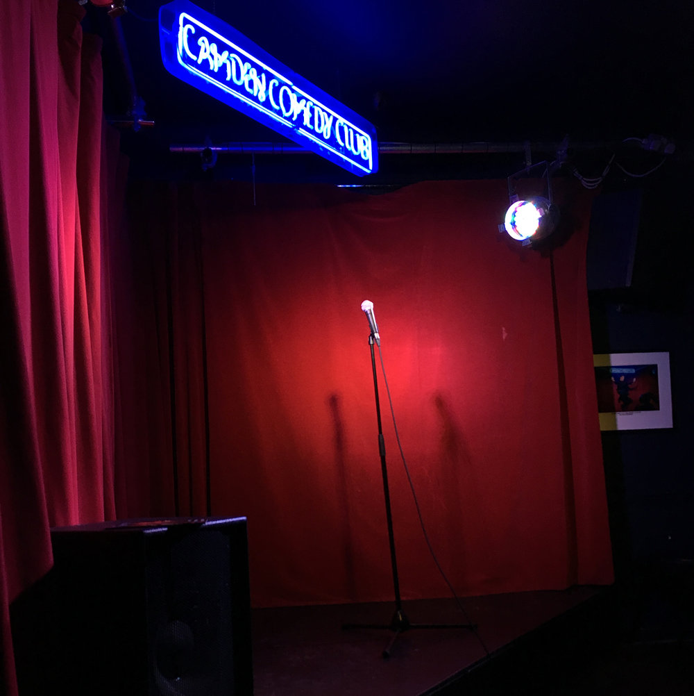 Photo from a comedy club we had a lot more fun at