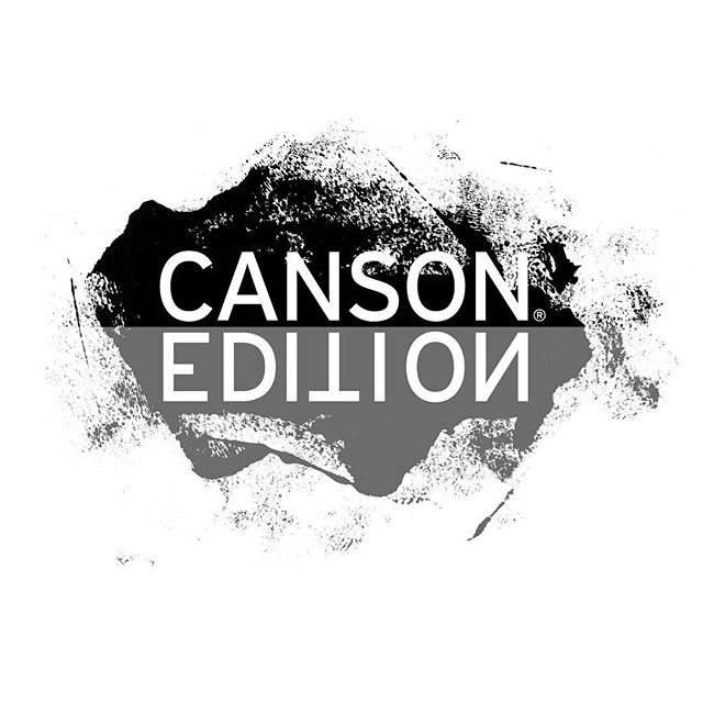 CANSON EDITION is a premium line of printmaking art papers. This logo mark launched the branding of this line. Typographic mirror image concept alludes to the printmaking process. #logodesign #graphicdesign #brandidentity #branddesign #cansonpaper #printmaking #typographicdesign #logomark @cansonpaper @cansonpaper_northamerica