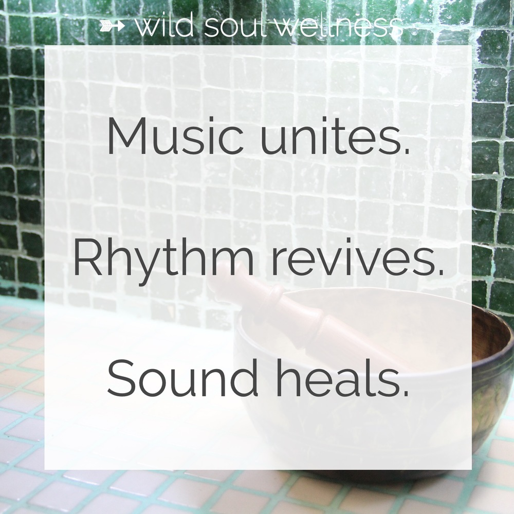 "Click to Tweet » ""Music unites. Rhythms revives. Sound heals."""