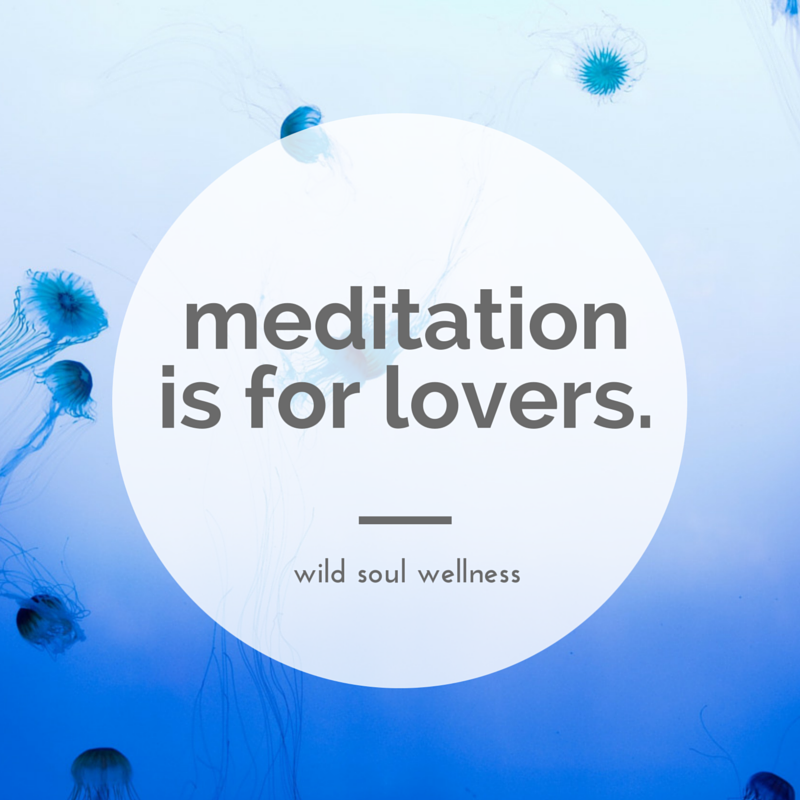 "Click to tweet »  ""Mediation is for lovers."""
