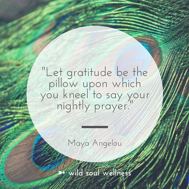 """» CLICK TO TWEET « """"Let gratitude be the pillow upon which you kneel to say your nightly prayer."""""""