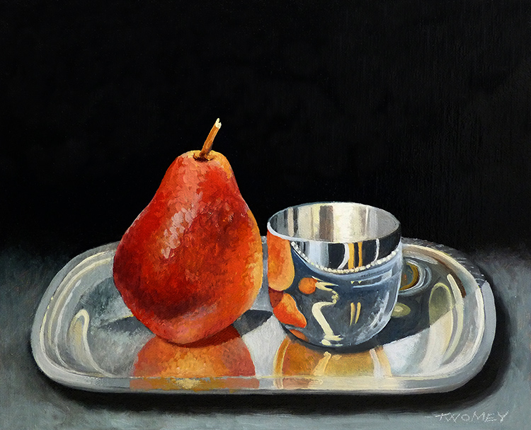"""Pear With Jefferson Cup"""