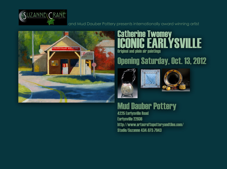 Twomey One Person Show at Mud Dauber Pottery