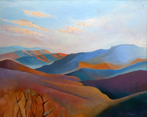 """East Fall Blue Ridge 4.0"" by C. Twomey"