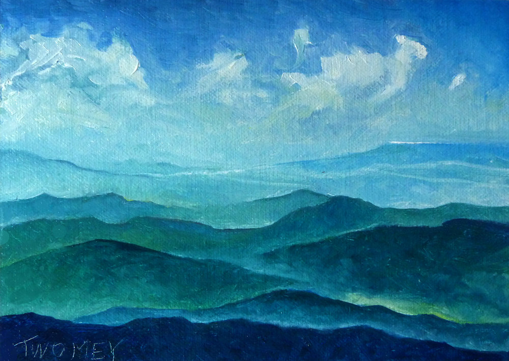 """Blue Ridge Blue Sheep Cloud"", C. Twomey,"