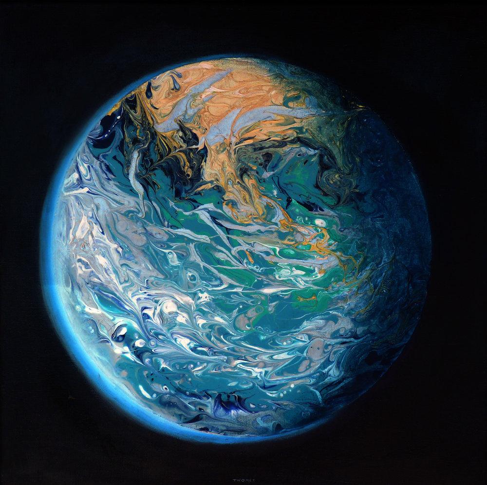 """Blue Marble Earth"""