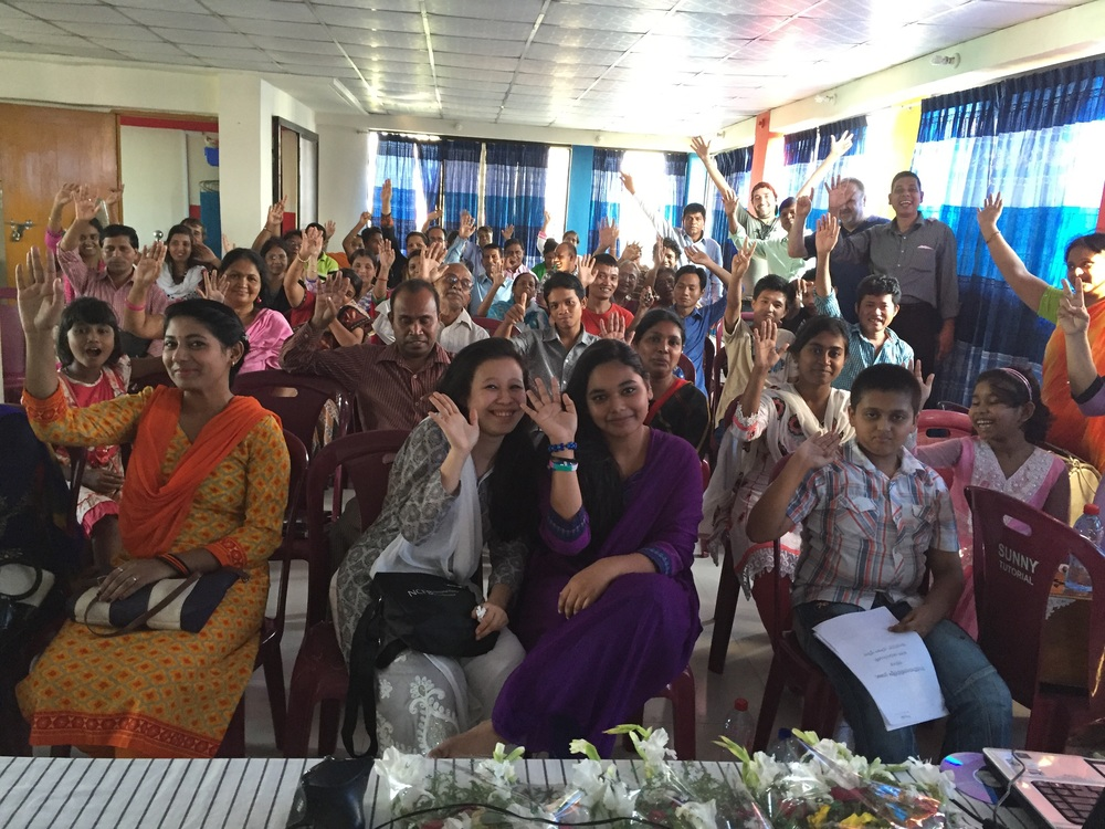 Amazing time with an incredible group of Igniters in Chittagong Bangladesh!