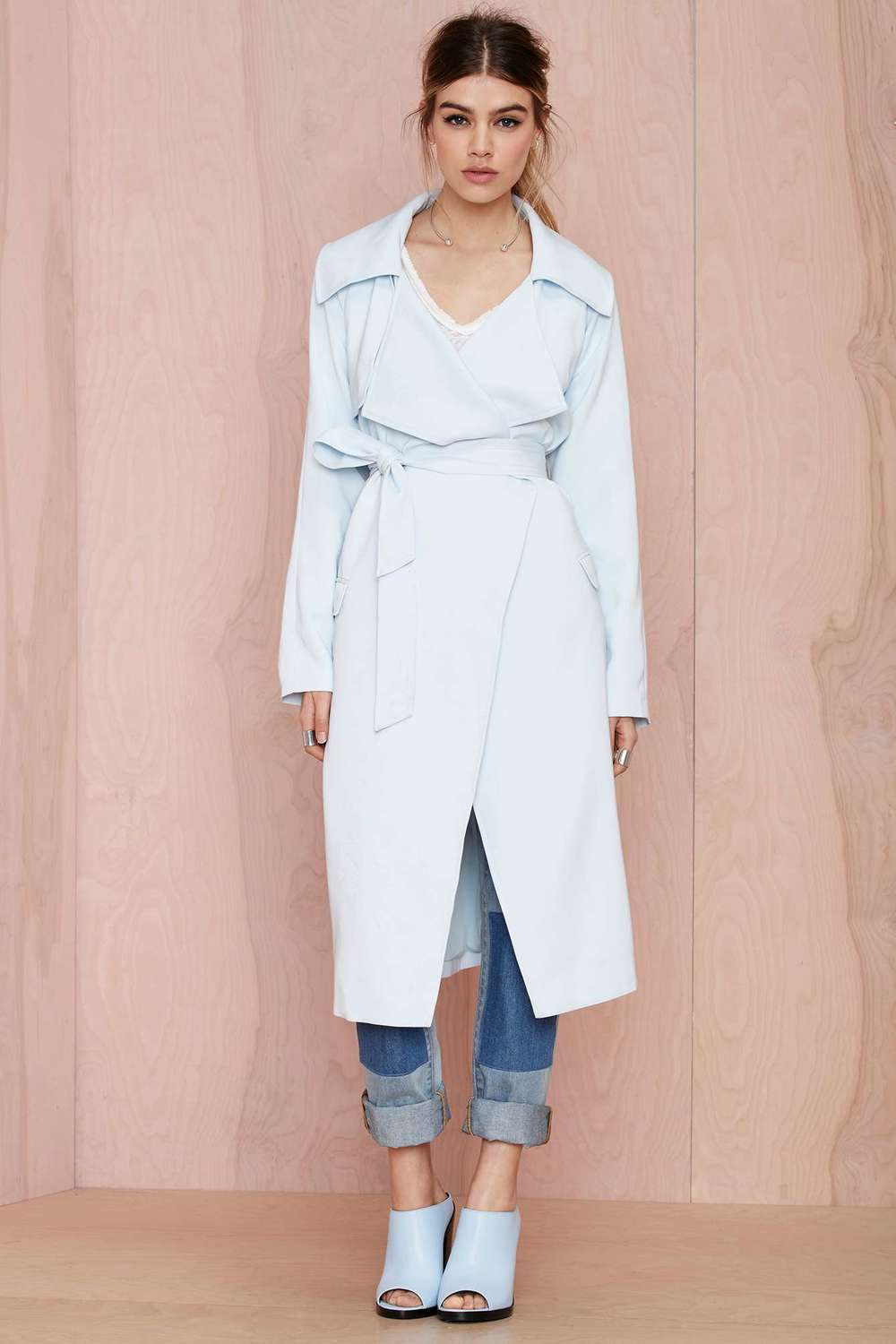 Nasty Gal Trench Coat
