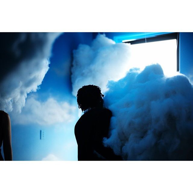 Don't miss out on @refinery29's 29Rooms installation, open today between 12-7!! Immerse yourself in some clouds or a powdery pink 90s bathroom. Check out our post on #daughterruns for more photos
