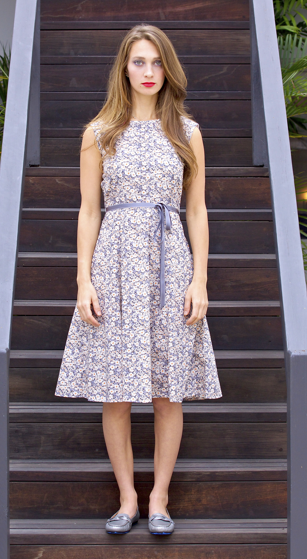 Swing Dress in Liberty London Print