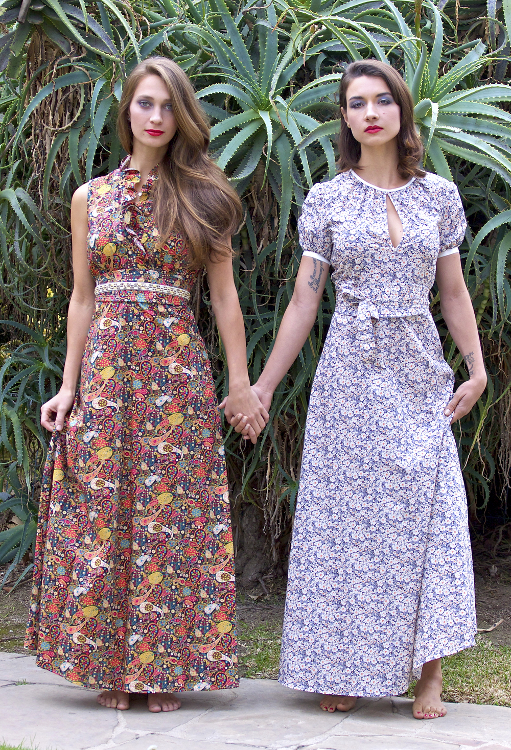Maxi Dresses in Liberty London Prints