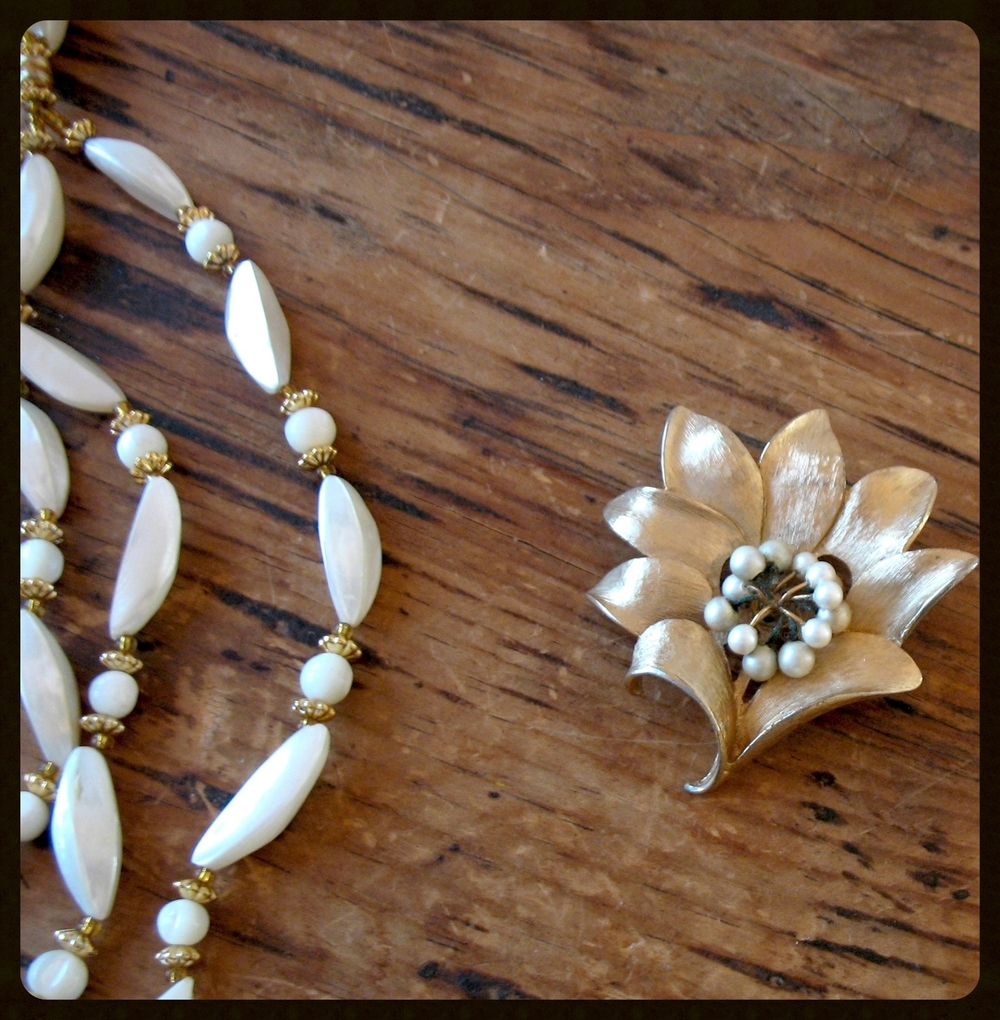 Necklace & Brooch
