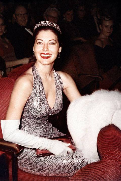 Ava Gardner - At the 1960 Academy Awards. - Getty Images