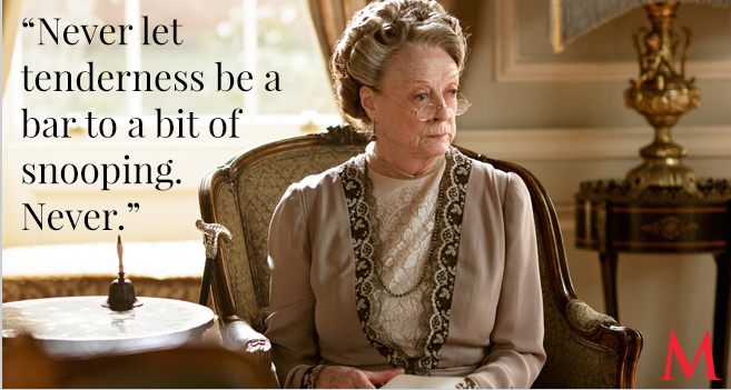 Maggie Smith - Downton Abbey