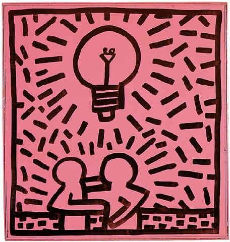 keith Haring - Untitled 1981