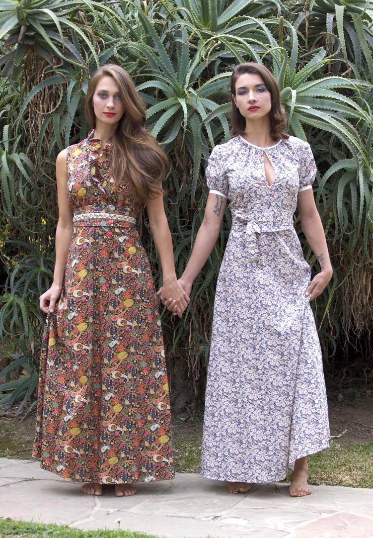 Liberty Print Maxi Dresses