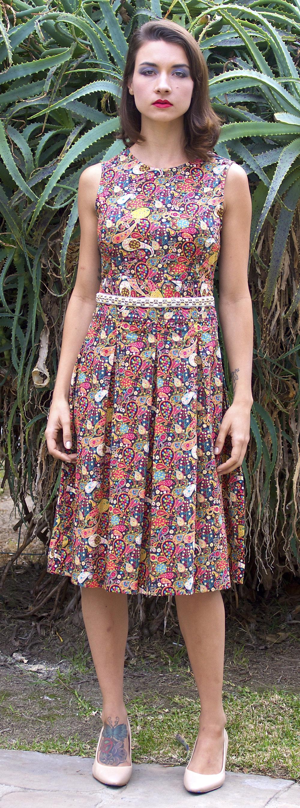 Liberty Boho-Print Dress