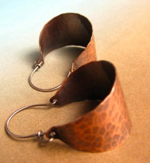 Cooper Earings