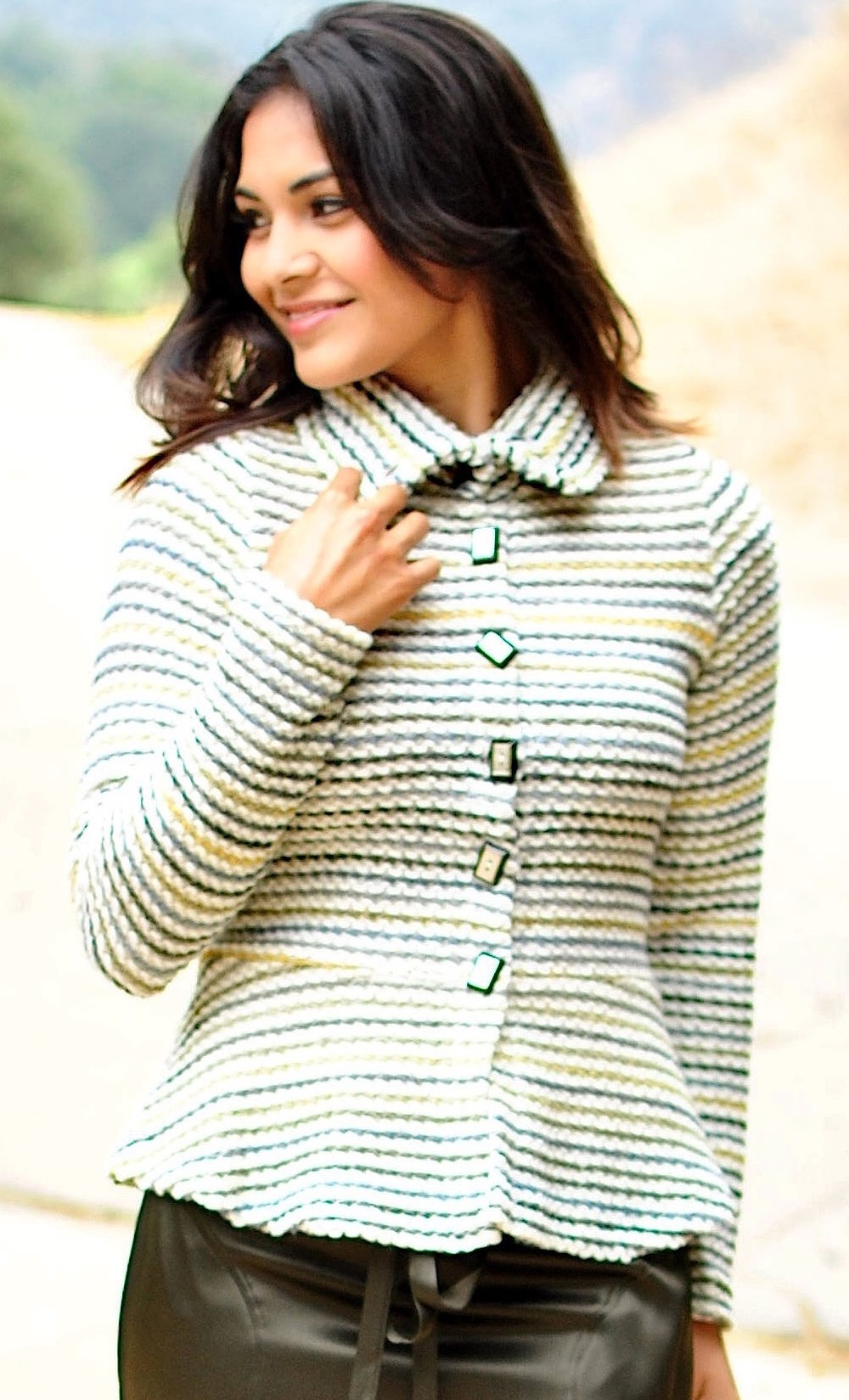 More Cozy-Cardi Knits (a couple in stock here)