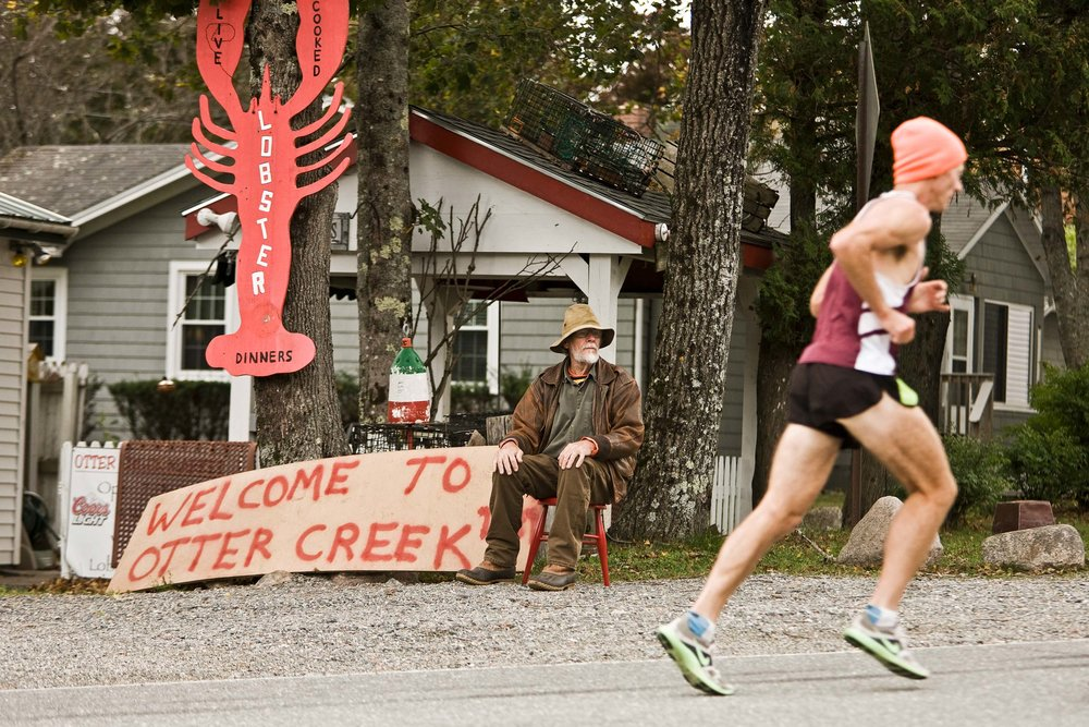 Welcome to Otter Creek, MDI Marathon - photo by Kevin Morris