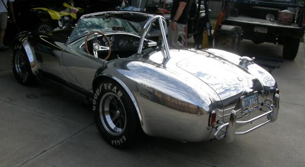 Polished Aluminum AC Cobra