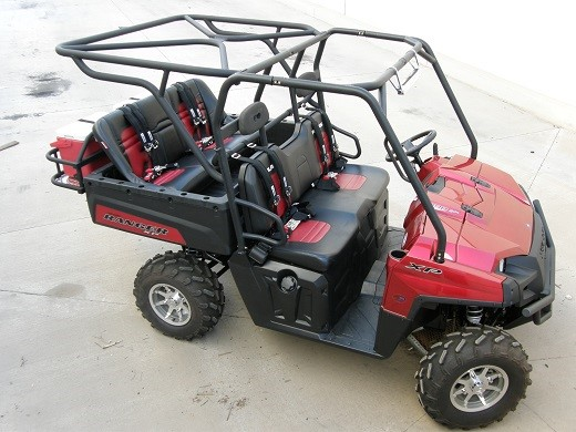 Polaris Ranger Bolt on Cages and Accessories — Big Chicken Hot Rods