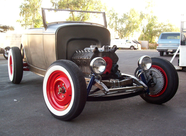 Frenchie's V12, 32 ford