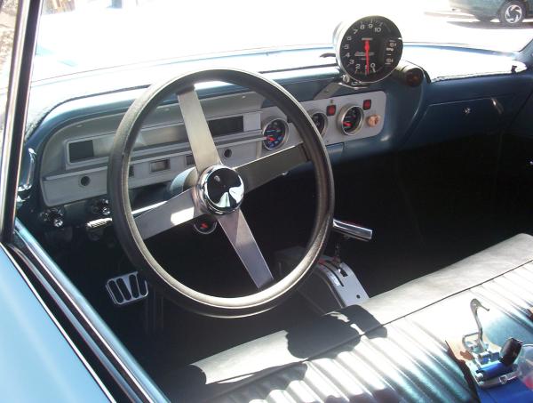 Gasser driver interior