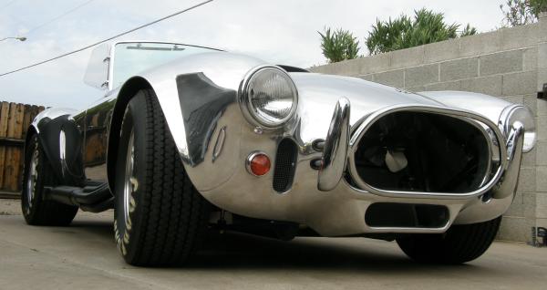Polished Shelby Cobra