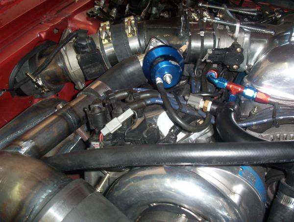 650 hp mustang blower plumbing
