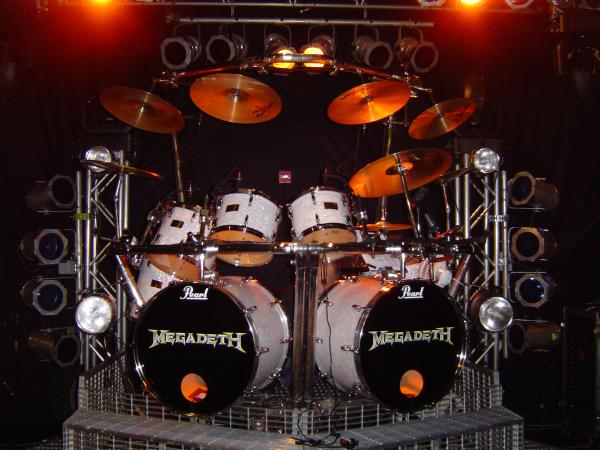 Megadeth Drum Kit