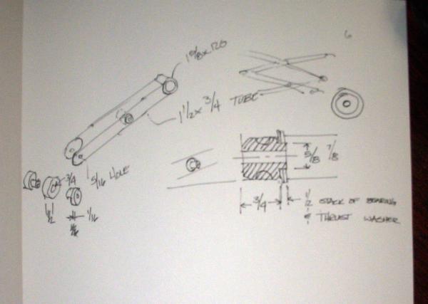 Scissor jack sketches
