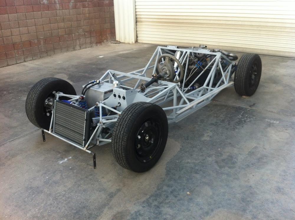 J15 chassis back on wheels