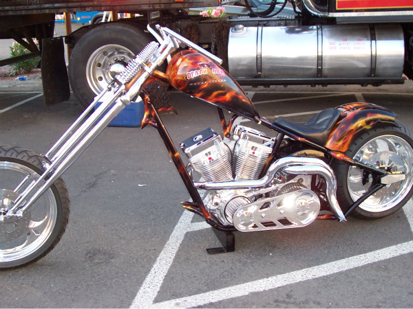 Death row prototype bike