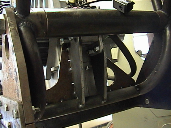 Rear motor mount details