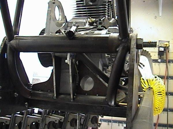 Trans mount details
