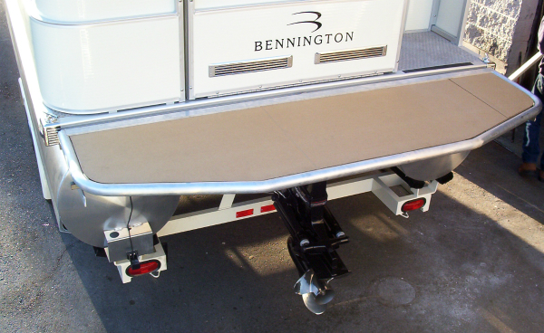 Bennington swim platform prototype