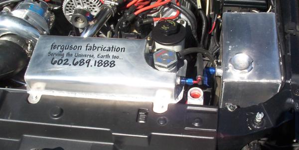 Aluminum Mustang Fill Tank